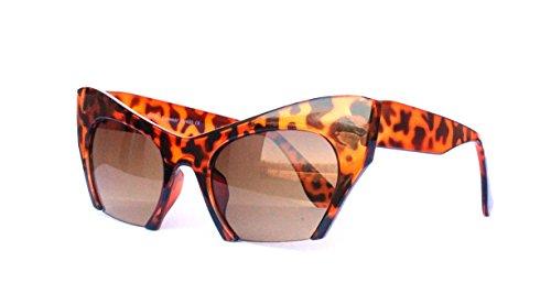 50er 60er 80er 90er Jahre Vintage Sonnenbrille Sommerbrille Clubmaster Style Rockabilly Trend 2017 2018 Mode Fashion Fashionbrille Designer Brille Braun Cateye