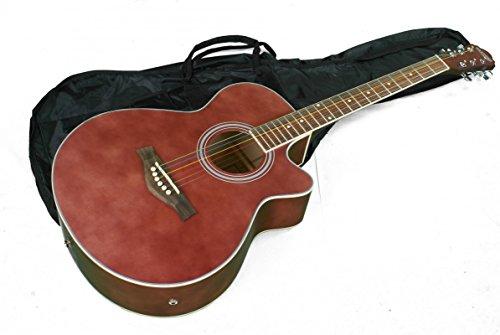 KEYTONE Acústica/guitarra western & tonabnemer & Gigbag
