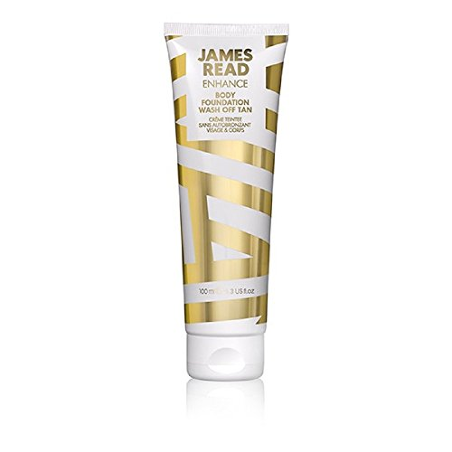 JAMES READ Body Foundation - Washable tanning 100 ml MEDIUM Natural tanning effect, In 60 seconds drying, waterproof formula, Suitable for all skin tones, tan lasts up to 24 hours