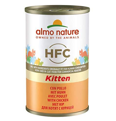 Almo Nature - Kitten - Nourriture pour chaton - Poulet - 24 x 0.14 kg