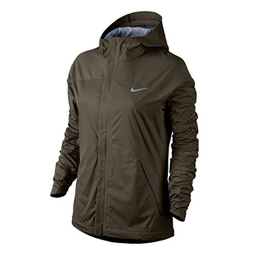 Nike Oberkörper Bekleidung Shieldrunner Jacket, Dunkelgrün, L, 689469-325