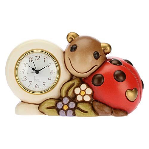 thun orologio da tavolo con coccinella