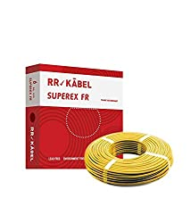 Rr Kabel Superex Fr Pvc Insulated 90 m Single Core Wire 6.00 Sq.mm