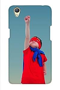 SRS Superhero Boy 3D Back Cover for Oppo A37