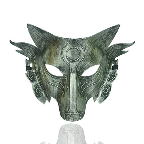 Big Kostüm Guy - AND Halloween Maske Horror Tier Maske Wolf Wolf Wolf Big Wolf Maske Hood Erwachsene Werwolf Kopf Kind