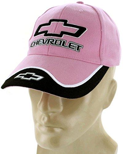 dantegts-chevrolet-bowtie-pink-baseball-cap-trucker-hat-snapback-camaro-ss-impala