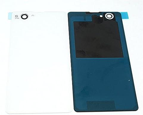 ixuan Pièce de remplacement Face Arrière Cache Batterie pour Sony Xperia Z1 Compact D5503 M51w Blanc