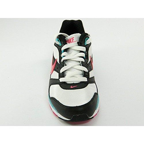 Nike - Nike Twilight Runner gs sneakers Damenschuhe weiss rosa schwarz Bianco-Nero-Fuxia