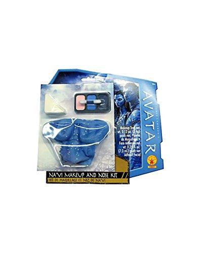 Lizenziertes Avatar - Aufbruch nach Pandora Na`vi Make-up Set mit Nase