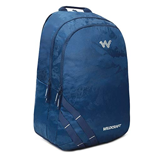 Best wildcraft backpack in India 2020 Wildcraft WC 1 Solid Backpack Navy (11908) Image 3