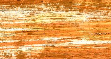 Wachsplatten / Verzierwachs 'Gemustert Gelb - Orange' (1 Stück / 175 x 80 x 0,5 mm) TOP QUALITÄT