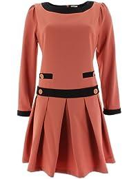 Kling - Vestido - plisado - para mujer