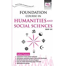 BSHF-101 Foundation Course In Humanities & Social Science