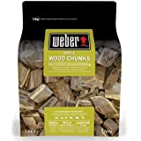 Weber de fumage Wood Chunks Pomme bois, marron, 17,8 x 8,9 x 30,5 cm, 17616