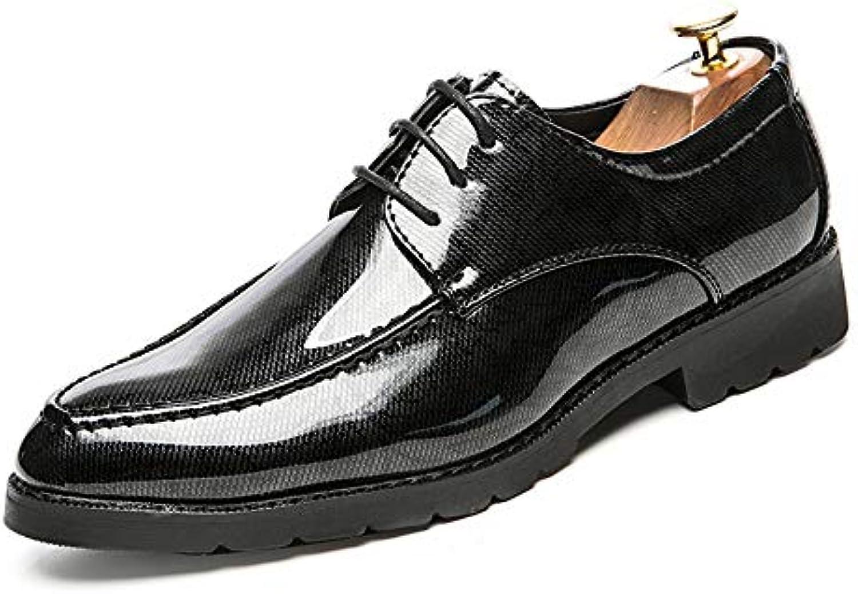 Scarpe Eleganti da Uomo in Pelle verniciate con Punta a Punta Stampate Oxford.   | Bassi costi  | Scolaro/Ragazze Scarpa