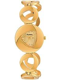 Austere ENYA Analogue Gold Dial Women's Watch (WEN-0606)(WEN-0606)