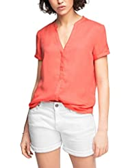 edc by ESPRIT Damen Bluse 036cc1f023-Basic