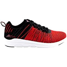Michael Schumacher Zapatos Speed Line, MS-18-862, Negro y Rojo,