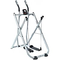 SportPlus Crosstrainer/Nordic Walker ordenador de entrenamiento, peso de usuario hasta 100 kg, plegable, comprobado según EN ISO 20957, SP-NW-004