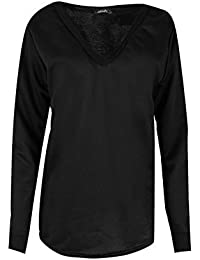 Ladies Casual Plain Oversized Sweater Top V Neck Curved Hem V Neck Baggy Womens Full Sleeves Party Jumper Sweatshirt