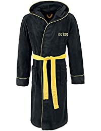 Officially Licensed Guns N' Roses Drum Logo Fleece Dressing Gown
