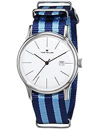 TOM Tailor relojes hombre-reloj analógico de cuarzo nylon 5415102