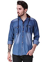 ca1625d0f85 Denim Men s Shirts  Buy Denim Men s Shirts online at best prices in ...
