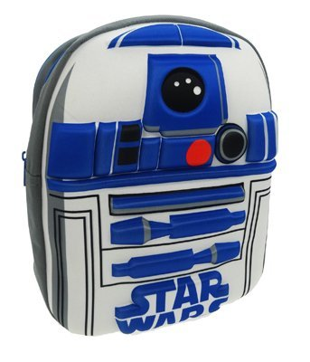 Star Wars Official Kids Star Wars R2-D2 3D EVA School Backpack