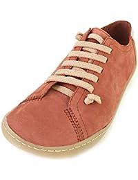 19ef7d690d CAMPER - Zapatos de Cordones de Cuero para Mujer Marrón Braun (Lara  Acajou Cami