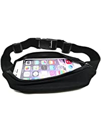 Outdoor Sports Running Jogging Fitness Climbing Cycling Camping Travel Nylon Waterproof Waist Pack & Bag Runner...