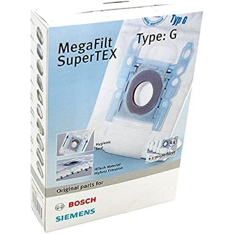 Siemens VZ41AFG - Bolsa Aspirador, compatible con todos los modelos