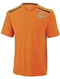 Wilson Herren M Sp Linear Blur Print Crew T-Shirt