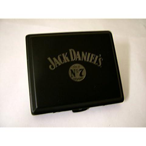 Jack Daniel - Portasigarette, rifiniture in nero