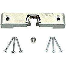 GU Türschnäpper / Balkontürschnäpper / Fensterschnäpper 9-39431 ( 9-39431-00-0-1 ) inclusive Rollzapfen & SN-TEC Montagematerial