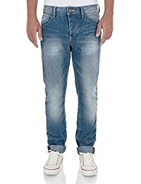 Lee Cooper Harry Work Straight Leg Denim Jeans Light Wash Blue