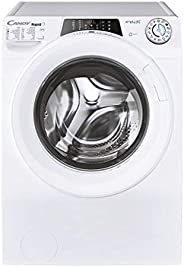 Candy washing machine,9kg,1200rpm,Wi-Fi + Bluetooth, 16 Programs,Door/Chrome Ring - RO1294DXH5Z-19