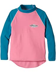Stingray - Camiseta UV manga larga niño - Rosa/Topaz