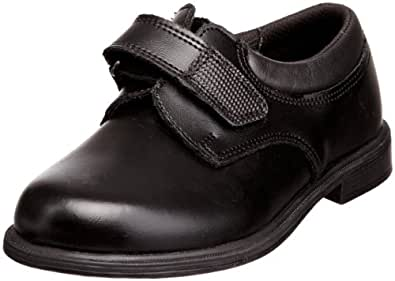 Toughees Boy's Class Shoes Black 2 UK