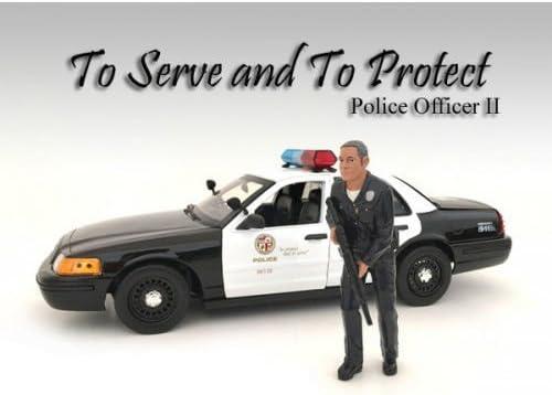 American Diorama Police Officer AD-24012 Figurine Figurine Figurine de Police Modèle 1:18 | Online Shop  247b17