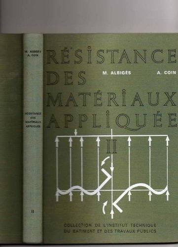 Resistance des materiaux appliquee tome II