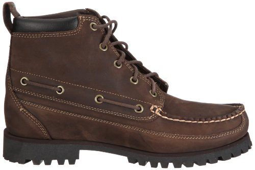 Timberland Men   s 5 EYE CHUKKA BROWN Boots Brown Size  7