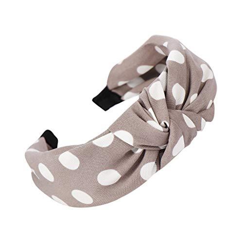 Yvelands Damen Mode Stirnbänder Breit Haarbänder Bogen Knoten Haarband Frauen Haar Kopfband Einfache Süße Mädchen Haar Stirnband - Übergröße Queen Kostüm