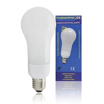 Energiesparlampe 20W E27, Allgebrauchsform von Sacom bei Lampenhans.de