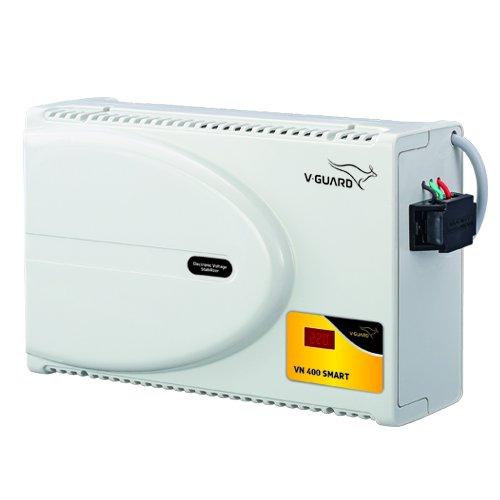 V Guard VN400 Smart Stabilizer for AC Up to 1.5 Ton  Working Range: 160V 280V
