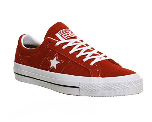 Converse One Star C153064, Baskets Basses Mixte Adulte Red/White/Gum