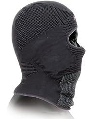 X-Bionic Balaclava - Pasamontañas con ojos descubiertos negro black/anthracite Talla:2