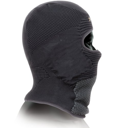X-Bionic Unisex Ow Stormcap Eye Accessorio Tecnico Multisport, Unisex adulto, Nero (Black/Anthracite), 2