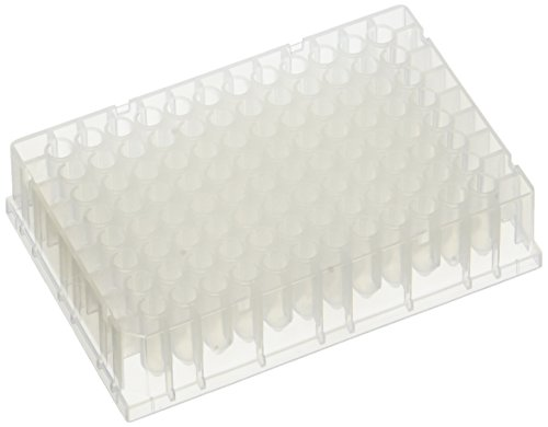 neoLab 7-2211 96 MTP-Blocks PP, U-förmige Wells, 0, 65 mL (50-er Pack)