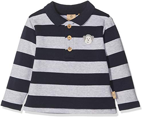 Bellybutton Kids Bellybutton mother nature & me Jungen Poloshirt Polohemd 1/1 Arm Mehrfarbig (Y/D Stripe 0001) 62