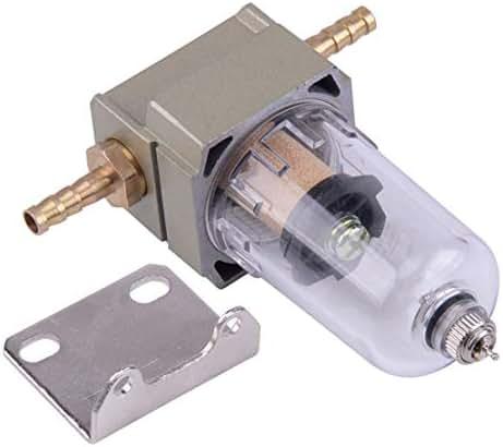 MeteorFlying Air Filter Regulator Compressor Moisture Trap Oil Water Separator Pressure Lubricator for Compressor and Air Tools